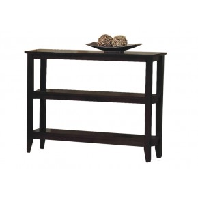 Quadra Low Bookcase - Halifax Brown