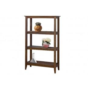 Quadra Tall Bookcase - Settler Walnut