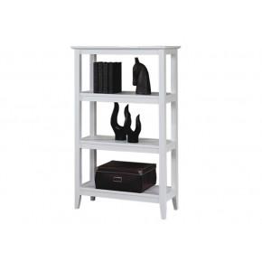 Quadra Tall Bookcase - White