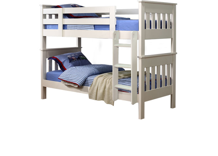 New England Super Single Bunk Bed Frame