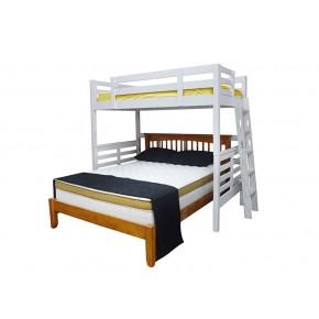 Umbreous Super Single Hi Sleeper with Alaska Queen Bed (Natural)