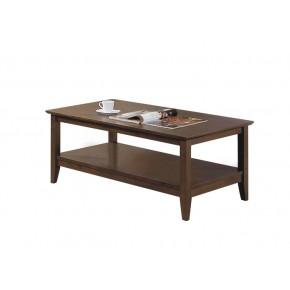 Quadra Coffee Table - Settler Walnut