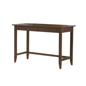 Quadra Study Table - Settler Walnut