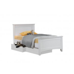 Andee Single Bed Frame with 2 Short Drawers