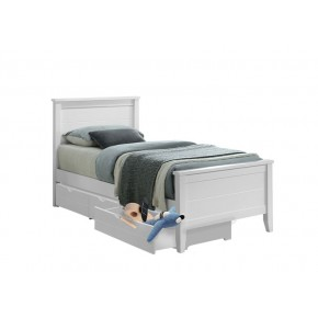 Charlie Single Bed Frame with Underbed 3 Drawers