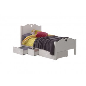 Holly Single Bed Frame with Underbed 3 Drawers