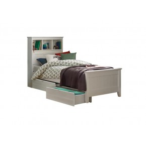 Jack Single Bed Frame with 2 Short Drawers
