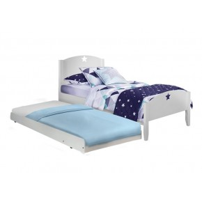 Starlight Super Single Bed Frame with Pull Out Bed