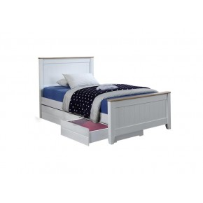 Tyler Super Single Bed Frame with Underbed 3 Drawers