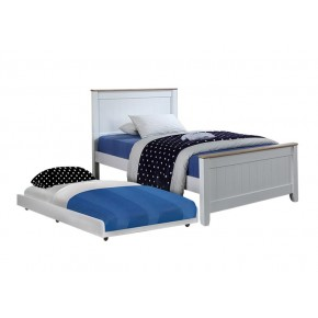 Tyler Super Single Bed Frame with Pull Out Bed