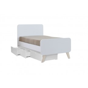 Oslo Super Single Bed Frame with Underbed 3 Drawers